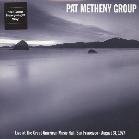 Pat Metheny Group - Live at The Great American Music Hall In San Francisco August 31 1977