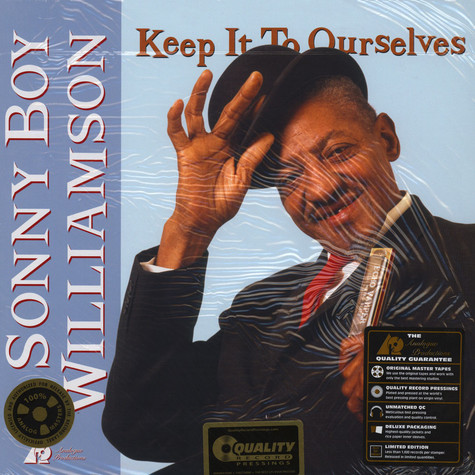 Sonny Boy Williamson - Keep It to Ourselves 45RPM, 200g Vinyl Edition