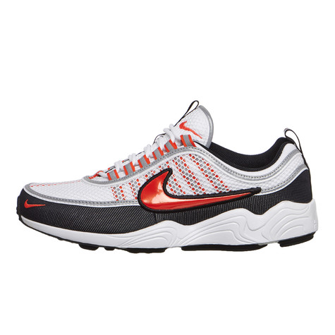 0265d62383ae Nike - Air Zoom Spiridon  16 (White   Team Orange   Black   Metallic ...