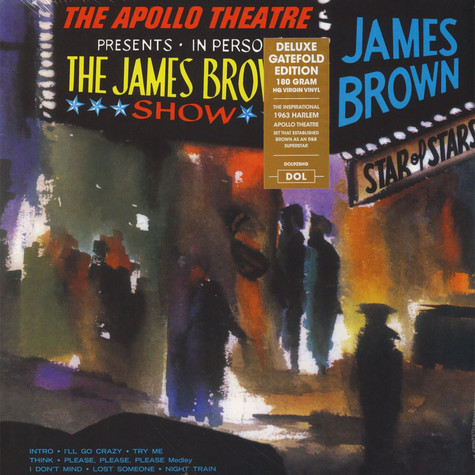 James Brown - Live At The Apollo Gatefold Sleeve Edition