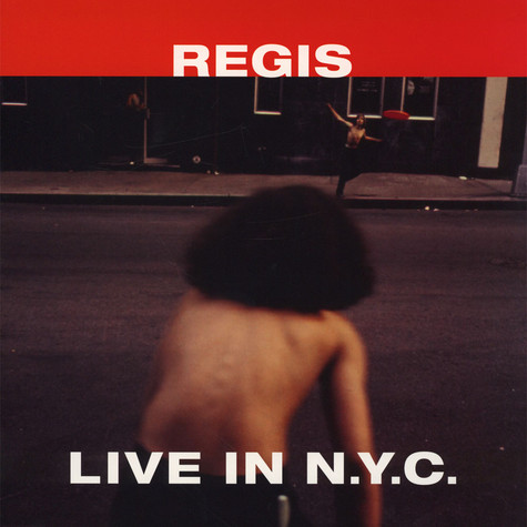 Regis - Live In NYC Red Vinyl Edition