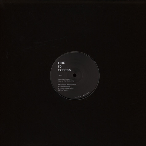 Peter Van Hoesen - Nine In The Begining