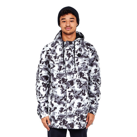 OPM - Aqua Camo Long Parka