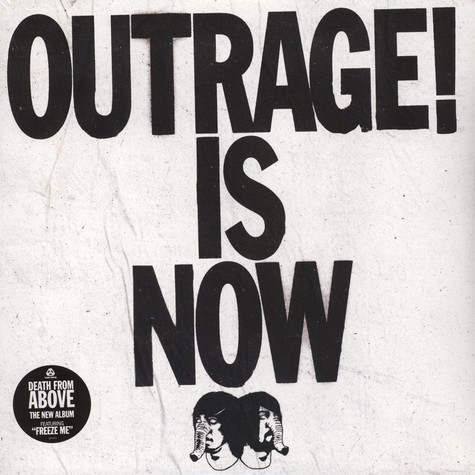 Death From Above - Outrage! Is Now Orange Vinyl Edition