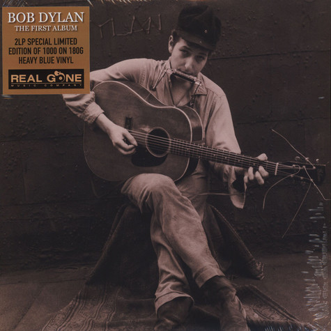 Bob Dylan - First Album Colored Vinyl Edition