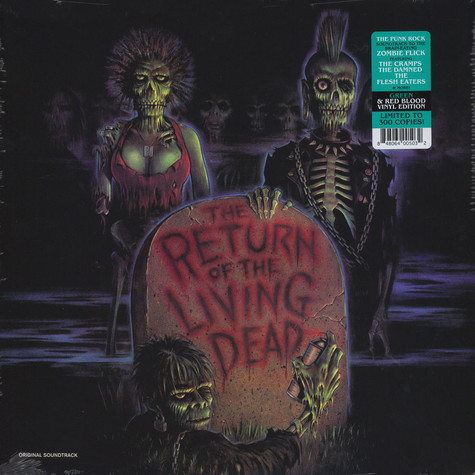 V.A. - OST The Return Of The Living Dead Green/Red Vinyl Edition
