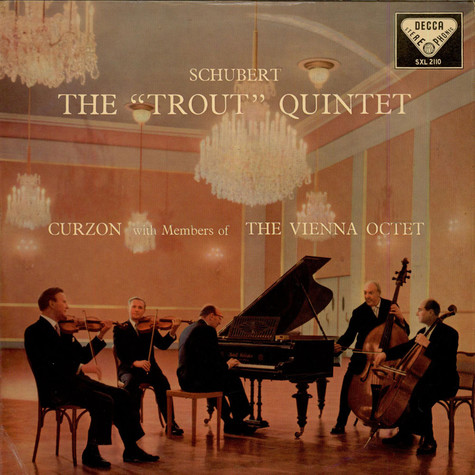 """Franz Schubert, Clifford Curzon With Members Of The Wiener Octet - The """"Trout"""" Quintet"""