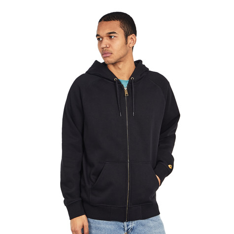 c10ce7ee8c7b8 Carhartt WIP - Hooded Chase Jacket (Black   Gold)