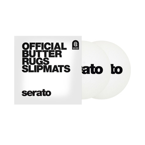 "Serato x Thud Rumble - Butter Rugs 7"" Slipmats"