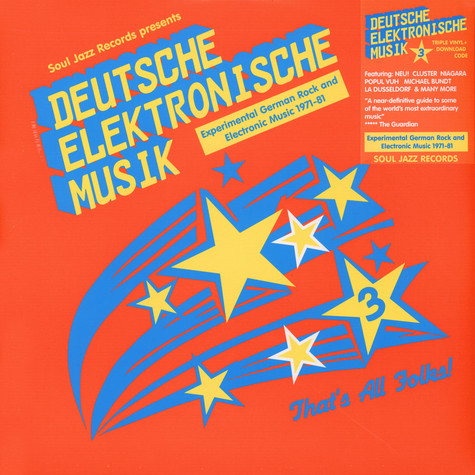 Soul Jazz Records presents - Deutsche Elektronische Musik Volume 3 - Experimental German Rock And Electronic Music 1971-81