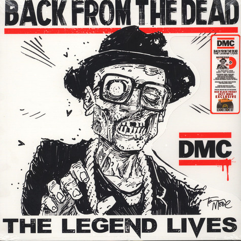 Darryl ''DMC'' McDaniels - Back From The Dead Red Vinyl Edition