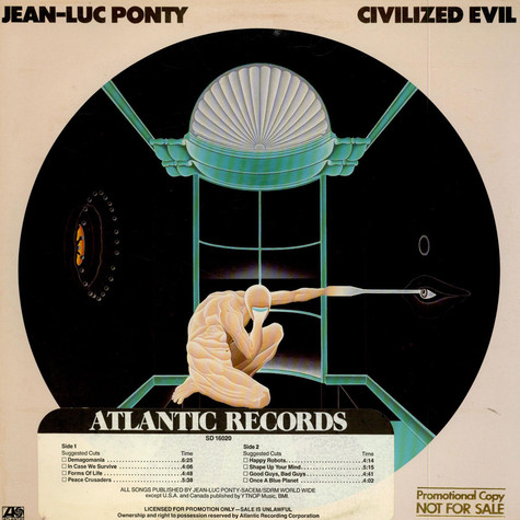 Jean-Luc Ponty - Civilized Evil