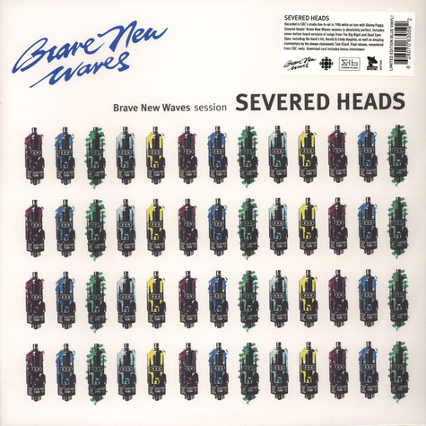 Severed Heads - Brave New Waves Session Colored Vinyl Edition