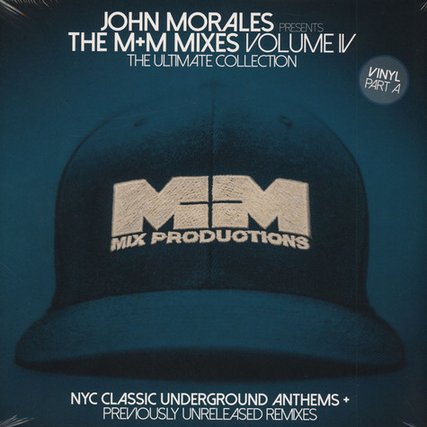 John Morales - The M+M Mixes 4 (Part A)