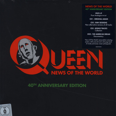 Queen - News Of The World 40th Anniversary Edition Deluxe Box