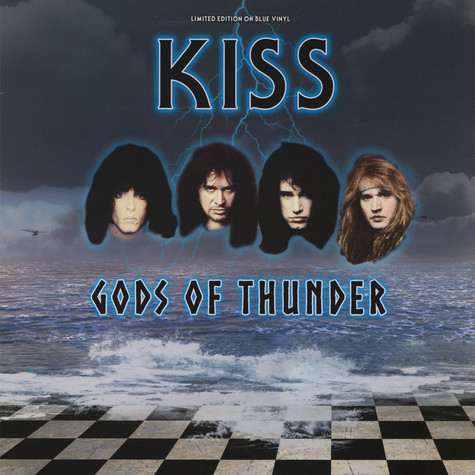 Kiss - Gods Of Thunder Glow In The Dark Vinyl Edition