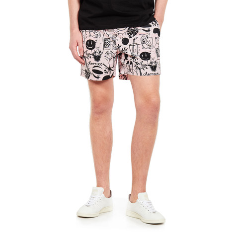 Wemoto - Cats Printed Shorts