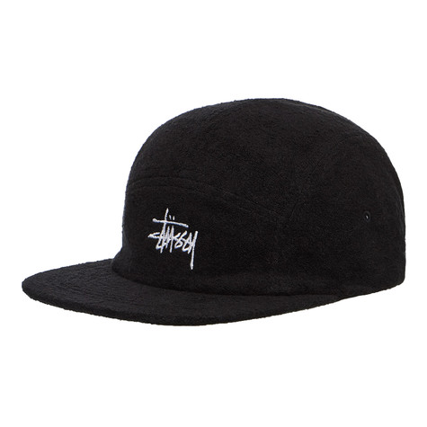 Stüssy - Stock Terry Cloth Camp Cap (Black)  29c8c5ee98e