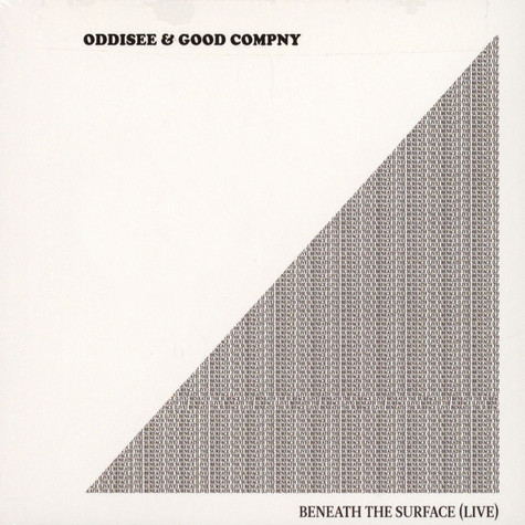 Oddisee & Good Company - Beneath The Surface (Live)