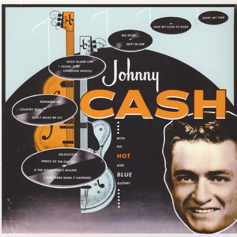 Johnny Cash - With His Hot & Blue Guitar