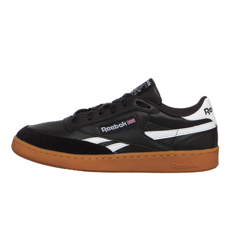 Reebok - Revenge Plus Gum (Black   White   Gum)  7d5b770be