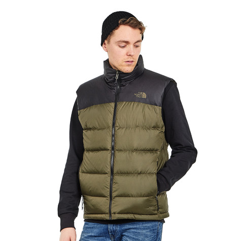 0bc8f85ce47b The North Face - Nuptse 2 Vest (Tnf Black   New Taupe Green)