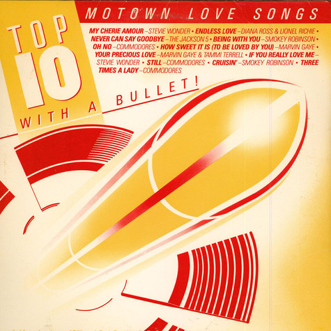 V.A. - Top 10 With A Bullet! Motown Love Songs / Motown Dance!