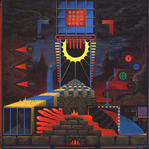 King Gizzard & The Lizard Wizard - Polygondwanaland Black Vinyl Edition