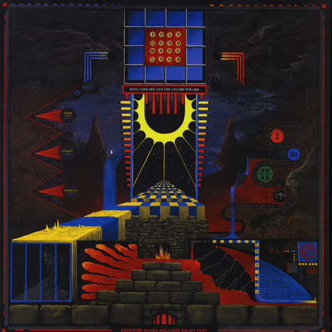 King Gizzard & The Lizard Wizard - Polygondwanaland Colored Vinyl Edition