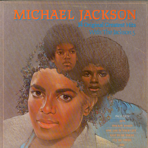 Michael Jackson - 14 Original Greatest Hits With The Jackson 5