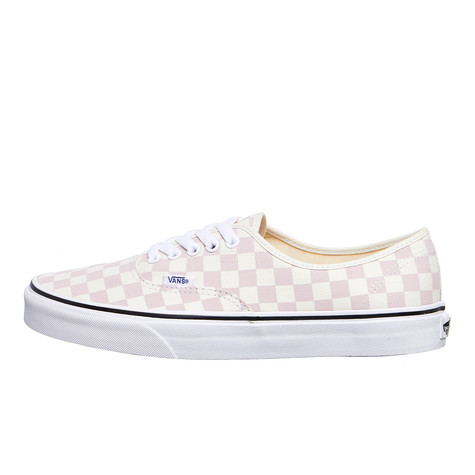VansUA Authentic CHECKERBOARD Chalk Rosa/CLASSIC WHITE Sneaker