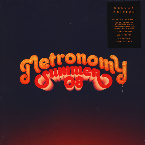Metronomy - Summer 08 Deluxe Edition
