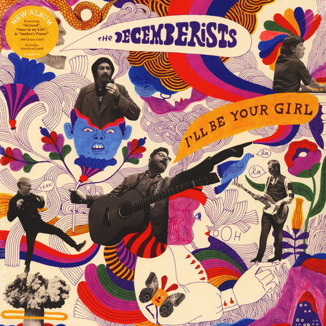 Decemberists, The - I'll Be Your Girl Black Vinyl Edition