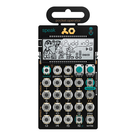 Teenage Engineering - Pocket Operator PO-35 SPEAK Vocal Synthesizer und Sampler