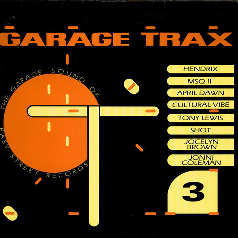 V.A. - Garage Trax 3 - The Garage Sound Of Easy Street Records