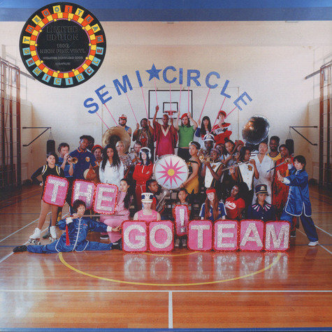 Go!Team, The - Semicircle Neon Pink Vinyl Edition