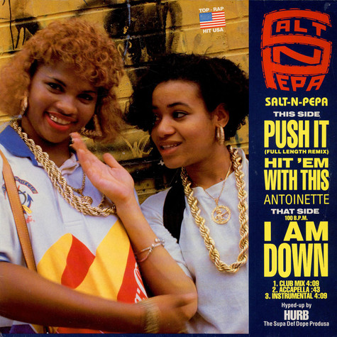 Salt 'N' Pepa / Antoinette - Push It