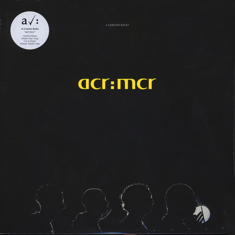 A Certain Ratio - acr:mcr