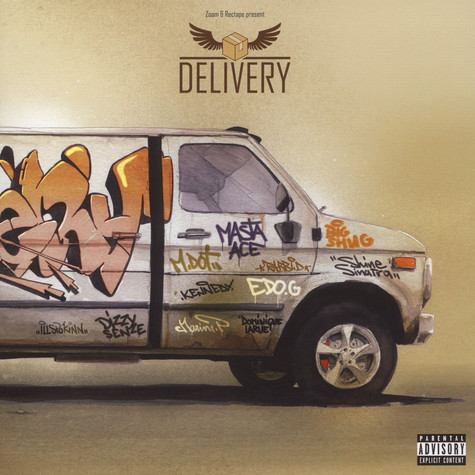 Zoom & Rectape - Delivery Gold Vinyl Edition