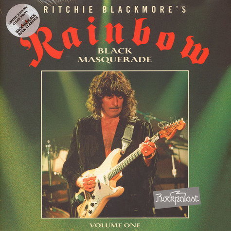 Rainbow - Rockpalast 1995 - Black Masquerade Volume 1 Clear Vinyl Edition