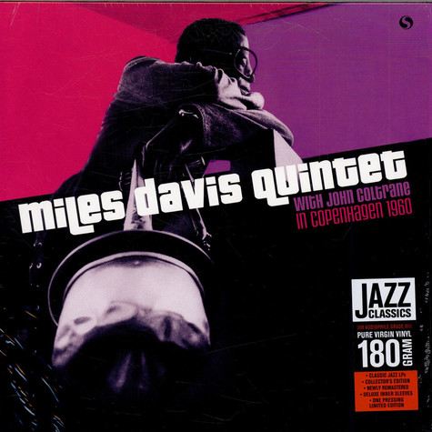 Miles Davis Quintet, The With John Coltrane - In Copenhagen 1960