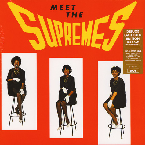 Supremes - Meet The Supremes Gatefold Sleeve Edition