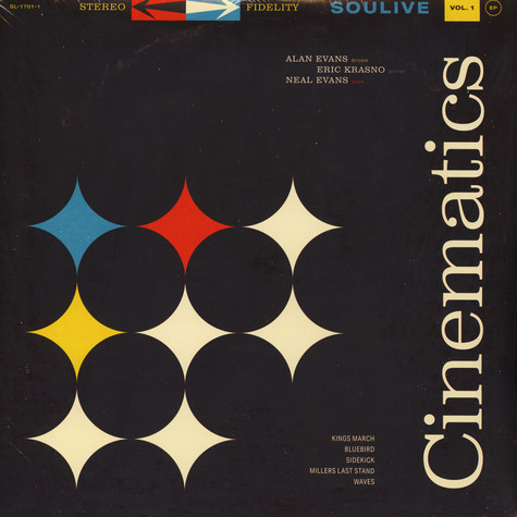 Soulive - Cinematics Volume 1 EP
