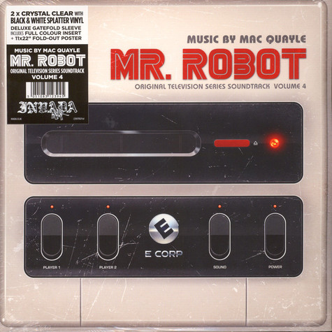 Mac Quayle - OST Mr. Robot Volume 4 Colored Vinyl Edition