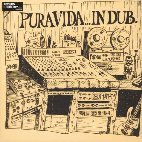 Pura Vida - In Dub Yellow/Green Vinyl Edition
