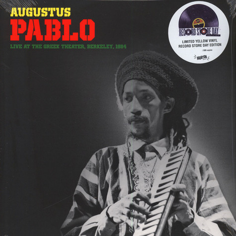 Augustus Pablo - Live At The Greek Theater Berkeley 1984