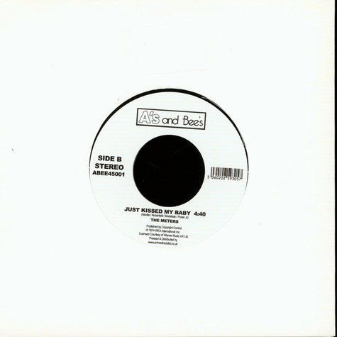 Watts 103rd St Rhythm Band / Meters, The - Express Yourself / Just Kissed My Baby