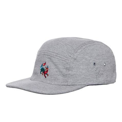 e2f44887fc662 Parra - Confused Fox Volley Hat (Heather Grey)