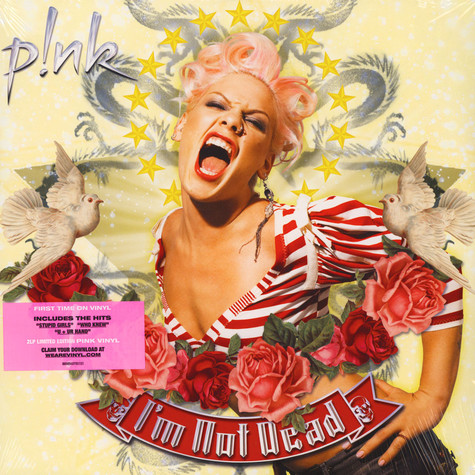 Pink - I'm Not Dead Colored Vinyl Edition