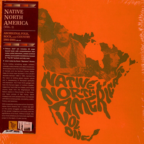 V.A. - Native North America (Vol. 1) (Aboriginal Folk, Rock, And Country 1966-1985)